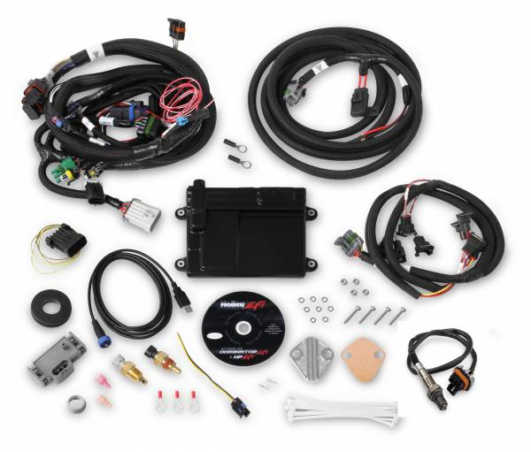 Holley EFI - Holley EFI FORD MPFI HP ECU AND HARNESS KIT 550-606