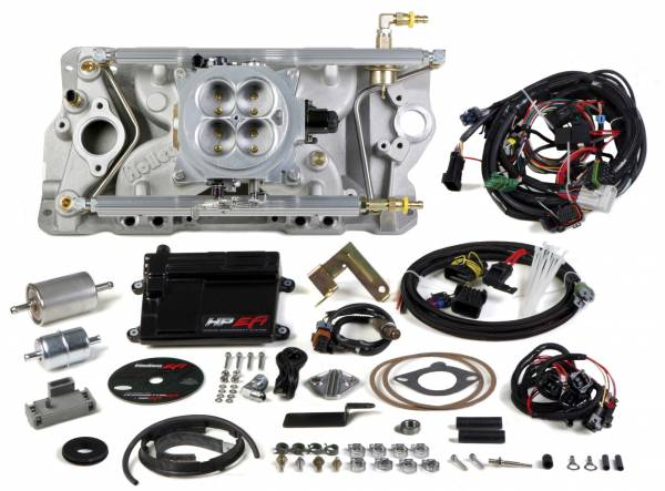 Holley EFI - 550-810 Holley HP EFI 4bbl, Multi Port Fuel Injection System, SBC