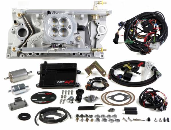 Holley EFI - 550-815 Holley HP EFI 4bbl, Multi Port Fuel Injection System, SBC, Vortec Heads