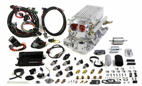 Holley EFI - 550-822 Holley EFI Avenger Stealth Ram™ MPFI System, SBC, 1995 and earlier Heads, 36 pph injectors