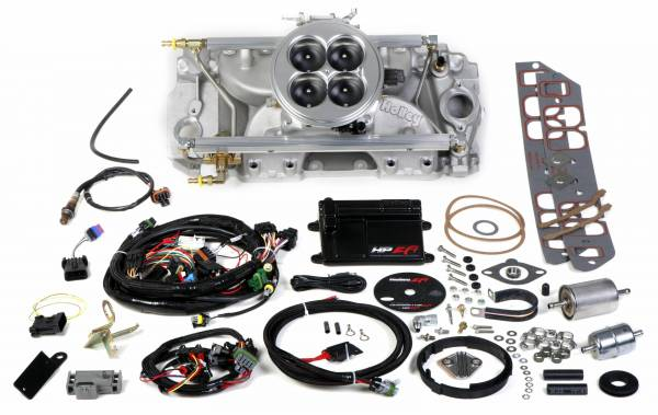 Holley EFI - 550-838 Holley HP EFI 4BBL Multiport Fuel Injection System, BBC, Rectangle Port, 2000 CFM