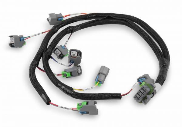 Holley EFI - Holley EFI INJECTOR HARNESS, FORD, USCAR, EVENLY SPACED 558-212