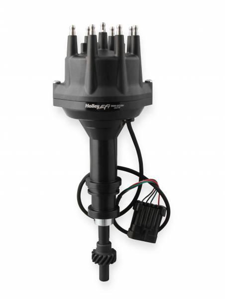 Holley EFI - Holley EFI Dist., Dual Sync, Chrysler Wedge, Black 565-203BK