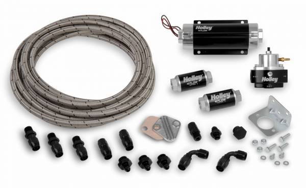 Holley EFI - 526-1 Holley EFI FUEL KIT (PERFORM-O-FLEX HOSE, HP BILLET PUMP