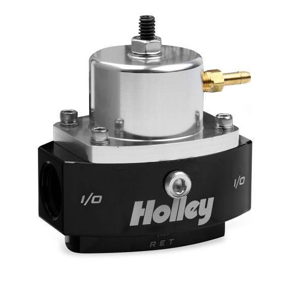 Holley - 12-880 Holley Billet Bypass Regulator, 40-70 PSI, 6AN