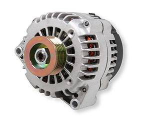 Holley - Holley ALTERNATOR, 105 AMP, SMALL CASE 197-300