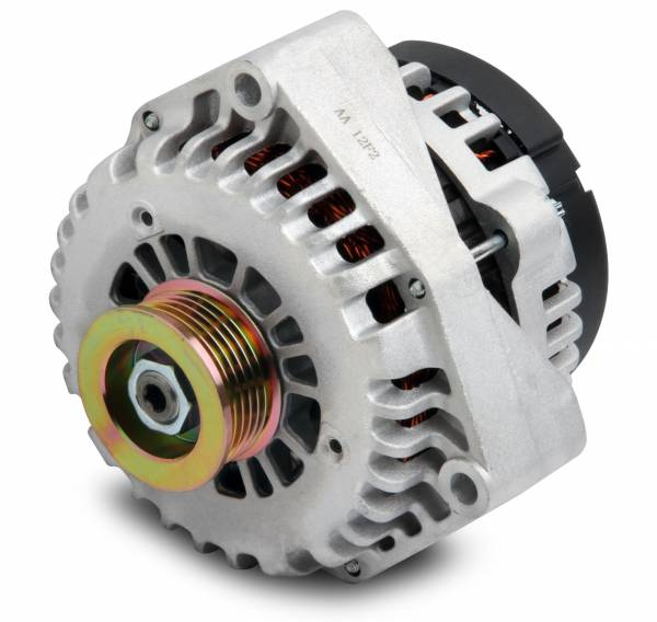 Holley - Holley ALTERNATOR, 130 AMP, LARGE CASE 197-301