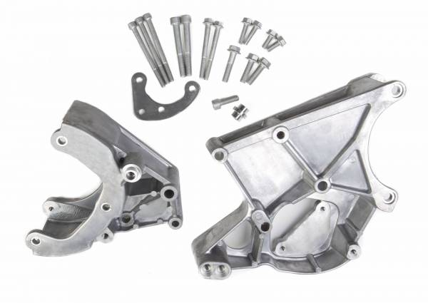 Holley - Holley LS ACC DRV BRACKET KIT (WORKS WITH R4 A/C COMPRESS 20-131