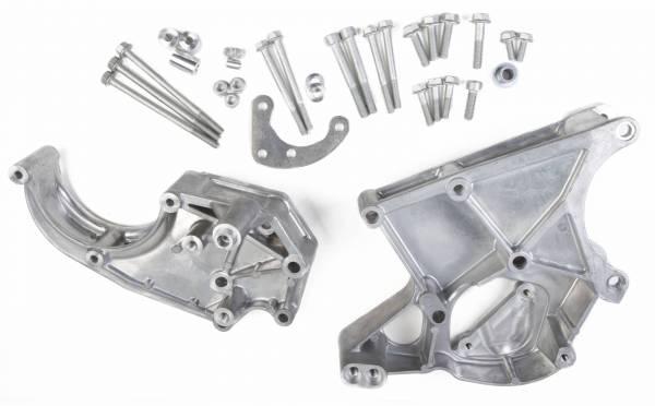 Holley - Holley LS A/C DRV BRACKET KIT (WORKS W/SANDEN AC COMP) 20-132