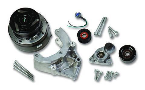 Holley - Holley AC BRACKET SYSTEM, WITH R4 AC COMPRESSOR (FOR USE 20-140
