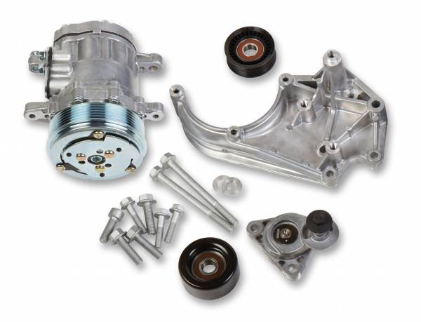 Holley - Holley AC BRACKET SYSTEM, WITH SD7 AC COMPRESSOR (FOR USE 20-142