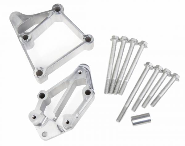 Holley - Holley INSTALL KIT LS ACC DRV BRACKETS USE WITH LONG BELT 21-3