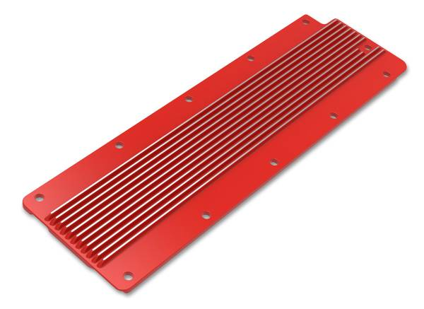 Holley - Holley VALLEY COVER FINNED GM LS2/LS3/LS7/LSX -GLOSS RED 241-269