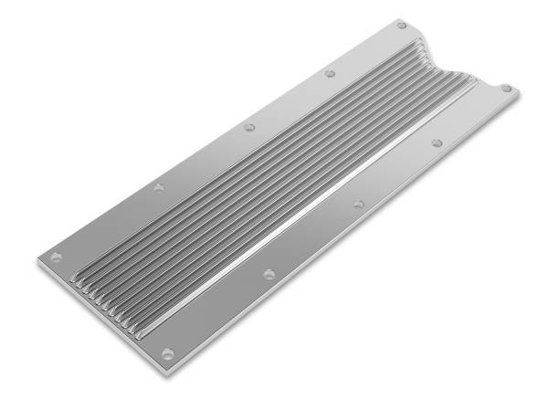 Holley - Holley VALLEY COVER FINNED GM LS1/LS6 - POLISHED FINISH 241-257