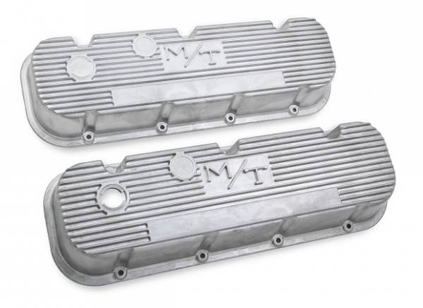 Holley - Holley VALVE COVER, M/T BBC, NATURAL 241-87