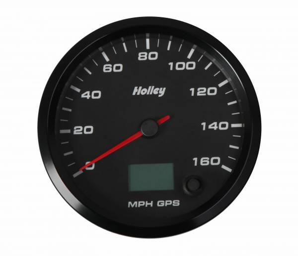 Holley - Holley 3-3/8 HOLLEY 160 GPS SPEEDO-BLK 26-612
