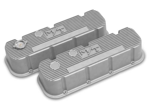 Holley - Holley TALL M/T BIG BLOCK CHEVY VALVE COVERS 241-150