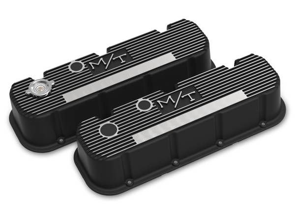Holley - Holley TALL M/T BIG BLOCK CHEVY VALVE COVERS 241-152