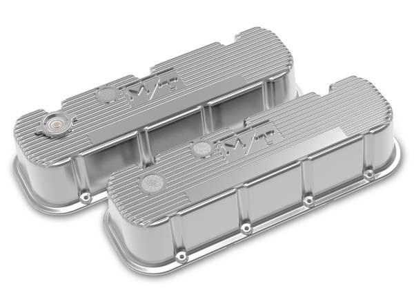 Holley - Holley TALL M/T BIG BLOCK CHEVY VALVE COVERS 241-151