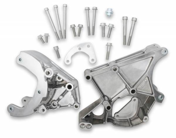 Holley - Holley LS ACC DRV BRACKET KIT (WORKS WITH R4 A/ 20-131P