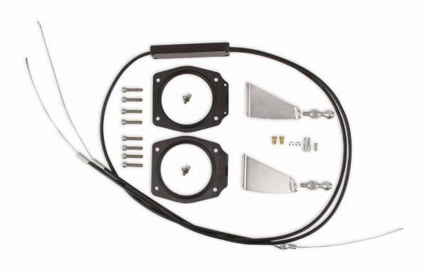 Holley Sniper EFI - Sniper EFI Throttle Linkage Kit - Dual Plenum Intake- GM LS Engines