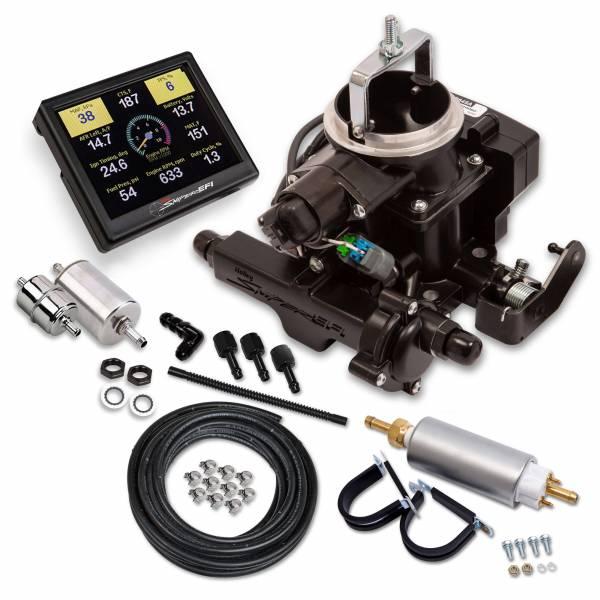 Holley Sniper EFI - Holley Sniper EFI BBD Master Kit for Jeep CJ - Black