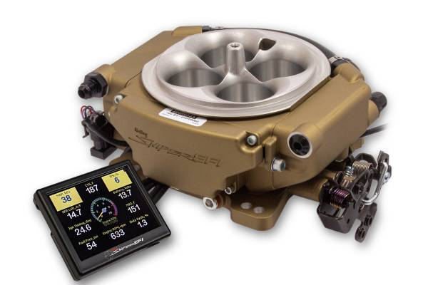Holley Sniper EFI - Holley Sniper EFI XFlow - Classic Gold