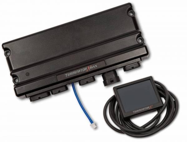 Holley EFI - 550-928 Terminator X MAX LS2/LS3/Late Truck 58X/4X LS MPFI Kit w/DBW Throttle Body and Transmission Control