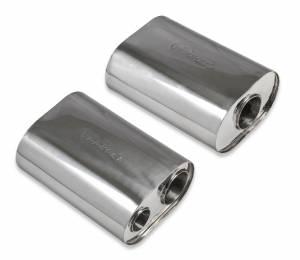 Exhaust - Mufflers - Hooker - Hooker Premium Mufflers 71011007-RHKR