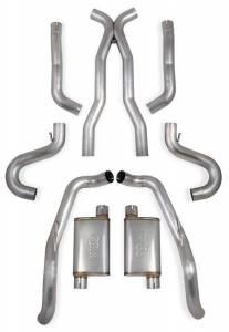 Exhaust - Exhaust Systems - Hooker - Hooker Hooker BlackHeart Exhaust System 70501354-RHKR