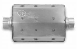 Exhaust - Mufflers - Hooker - Hooker Hooker Aero Chamber Muffler 21506HKR