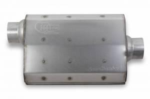 Exhaust - Mufflers - Hooker - Hooker Hooker Aero Chamber Muffler 21502HKR