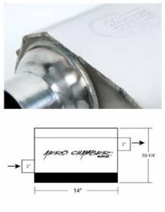 Exhaust - Mufflers - Hooker - Hooker Hooker Aero Chamber Muffler 21530HKR