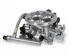 Performance - Throttle Bodies & Components - Holley EFI - Holley EFI THROTTLE BODY, TERMINATOR POLISHED 534-216