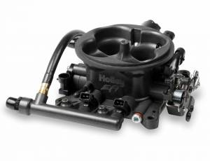 Performance - Throttle Bodies & Components - Holley EFI - Holley EFI THROTTLE BODY, TERMINATOR HC GREY 534-217