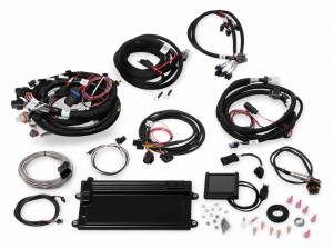 MPFI Systems - Terminator - Holley EFI - 550-623 Holley Terminator LS MPFI Kit, 1999-2007 4.8/5.3/6.0 Truck Engines w/24x Crank Reluctor, w/DBW & Trans Control