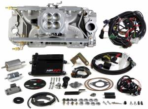 MPFI Systems - HP EFI  - Holley EFI - 550-835 Holley HP EFI 4BBL Multiport Fuel Injection System, BBC, Oval Port