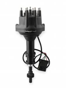 Distributors - Holley Dual Sync Disributors - Holley EFI - Holley EFI Dist., Dual Sync, Chrysler Wedge, Black 565-203BK