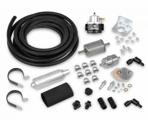 Air & Fuel System Parts - Fuel System Kits - Holley EFI - 526-4 Holley EFI FUEL KIT (SUPER STOCK HOSE, 12-920 PUMP, BARB