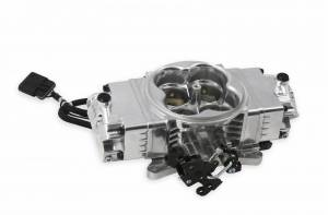Performance - Throttle Bodies & Components - Holley EFI - Holley EFI THROTTLE BODY, STEALTH 2X4 POLISHED 534-240