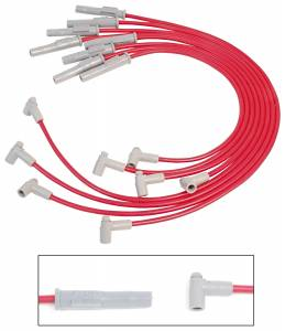 Spark Plug Wires - MSD Super Conductor Wire Sets - MSD - 31779 MSD Helicore Wires