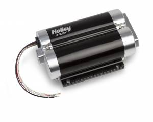 Fuel Pumps - In-Line Fuel Pumps - Holley - 12-1600-2 Holley FUEL PUMP, DOMINATOR GAS ONLY DUAL INLET