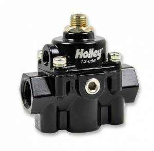 Fuel Pressure Regulators - Holley - Holley - 12-866 Holley EFI Bypass Style Fuel Prs Regulator, 60 PSI, Black Die Cast