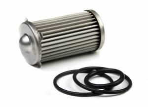 Air & Fuel System Parts - Fuel Filters - Holley - 162-566 Holley REPL ELEMENT 175 GPH, (40 MIC)