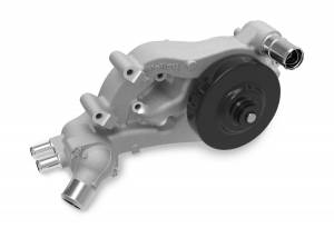 Cooling - Cooling Parts - Holley - Holley LS-WATER PUMP FORWARD FACING INLET- ALL LONG BELT 22-101