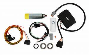 Fuel Pumps - In-Line Fuel Pumps - Holley - 12-768 Holley VR SERIES PUMP QUICK KIT W26-163 HARNESS