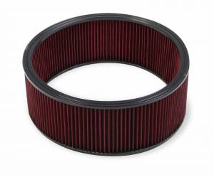 Air Intakes - Air Filters - Holley - Holley 16 X 6 RED GAUZE AIR FILTER 220-60
