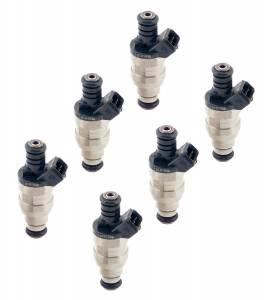 Fuel Injectors - Accel - Accel - 150619 Accel PERF FUEL INJECTORS 19lb 6-pak