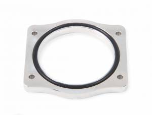 Holley Sniper EFI - Throttle Body Spacer Silver 92mm LS-engines - Image 1