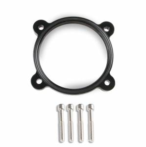 Holley Sniper EFI - Throttle Body Spacer Black 2011-present Ford Coyote 5.0L V8